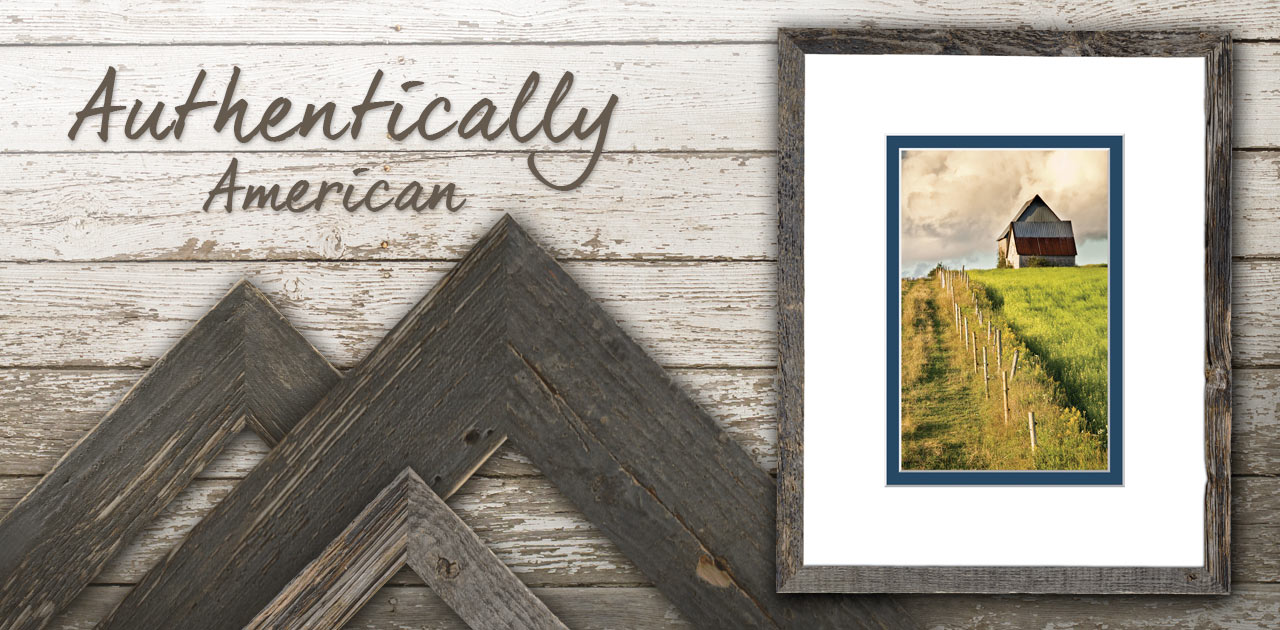 Authentically American Picture Frames