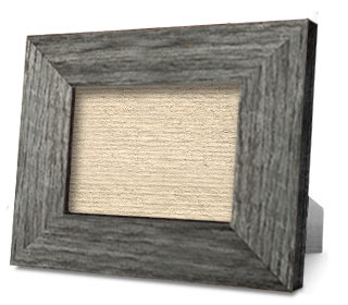 Weathered Gray Tabletop Frame